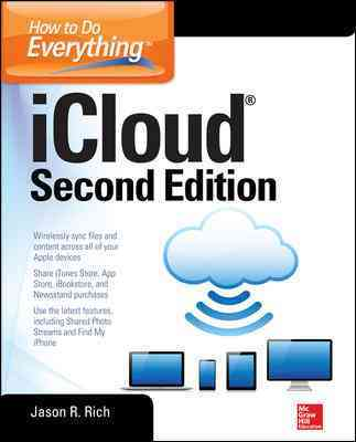 How to Do Everything: Icloud By Rich, Jason R.
